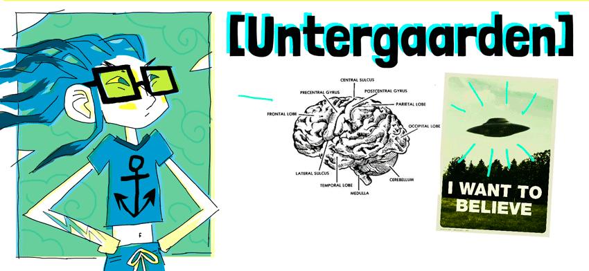 Untergaarden, cheveux au vent