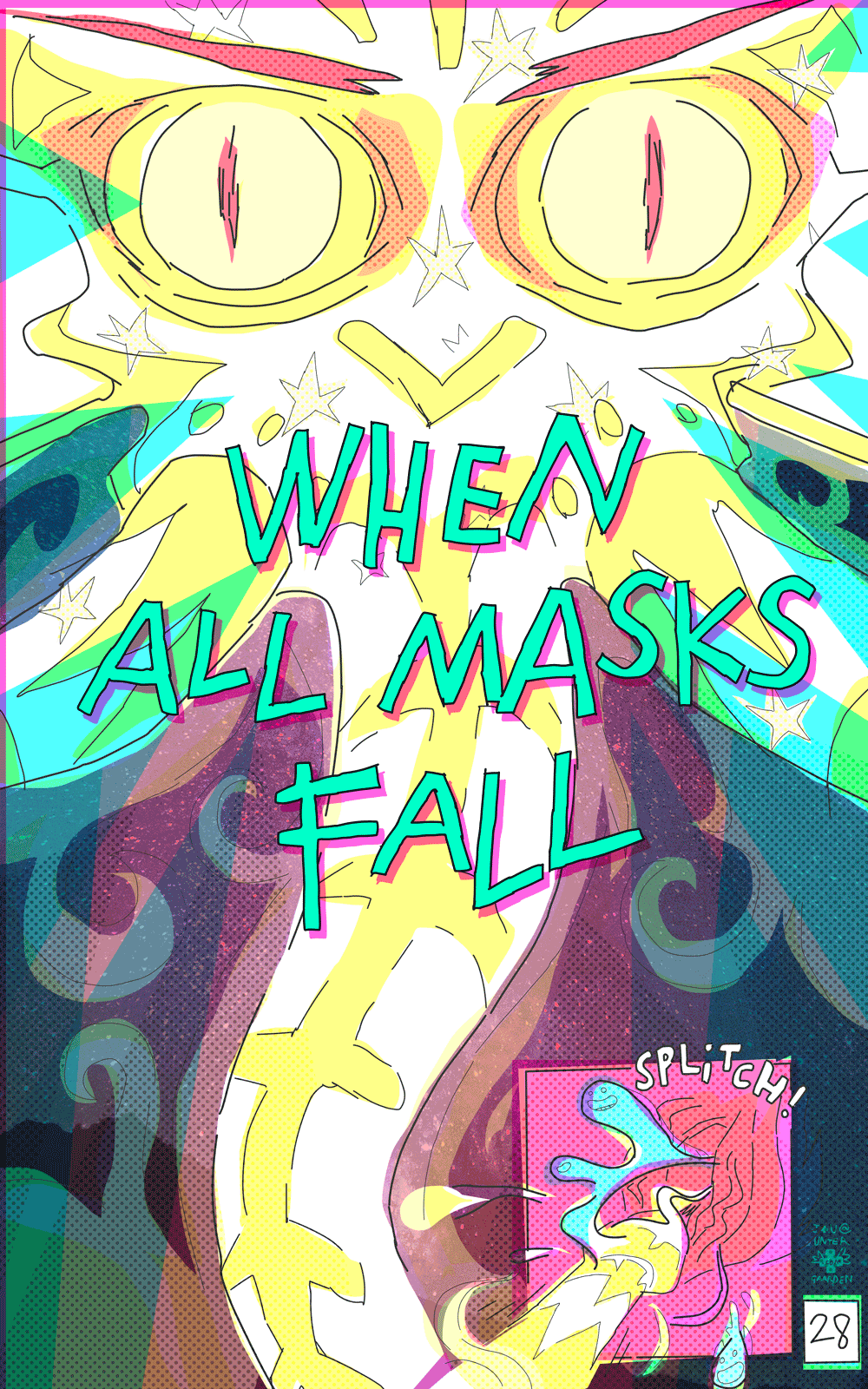 Because this is the night when all masks fall
